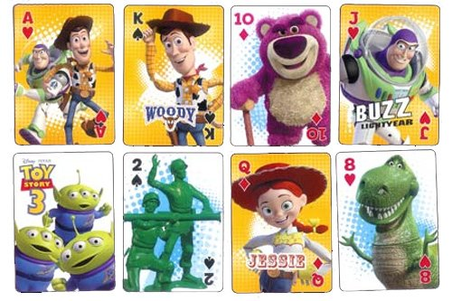 Disney Toy Story 3 Playing Cards - 1