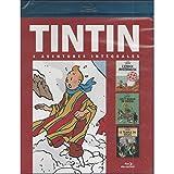 Tintin - 3 Aventures - Vol. 4 : 7 Boules De Cristal + Le Temple Du Soleil + L'Etoile Mystérieuse...