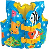 Intex Fun Fish Child Swim Vest Inflatable Kids Life Jacket - #59661 - 2 Count, 2 Vests/