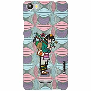 Micromax Canvas 5 E481 Back Cover - Silicon Child Like Designer Cases