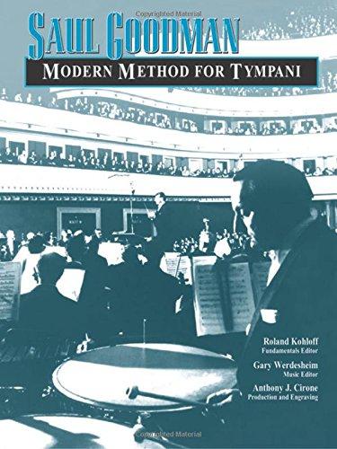 Modern method for tympani. Per le Scuole superiori