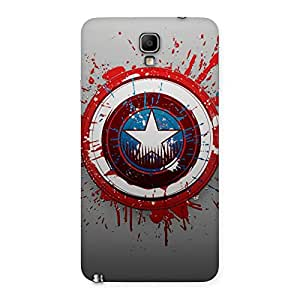 Gorgeous Premier Blood Round Multicolor Back Case Cover for Galaxy Note 3 Neo