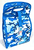 PackIt Freezable Lunch Bag with Zip Closure, Blue Camouflage