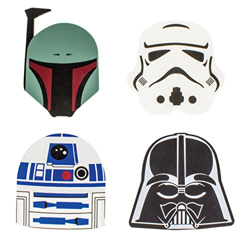 Star Wars - Sottobicchieri multicolori, motivo: Guerre stellari