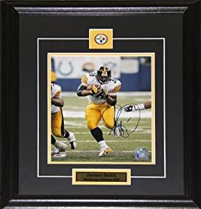 Jarome Bettis Pittsburgh Steelers Signed 8x10 frame by Midway Memorabilia