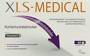 XLS-Medical Kohlehydrateblocker, 60 Tabletten, 1er Pack (1 x 60 Stück)