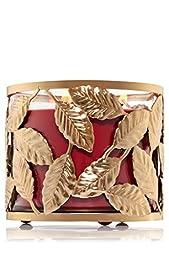Bath & Body Works Champagne Leaf 3 Wick Candle Sleeve Holder