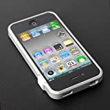 CAZE ThinEdge frame case for iPhone 4/4S Bumper Silver 【世界最薄バンパー】