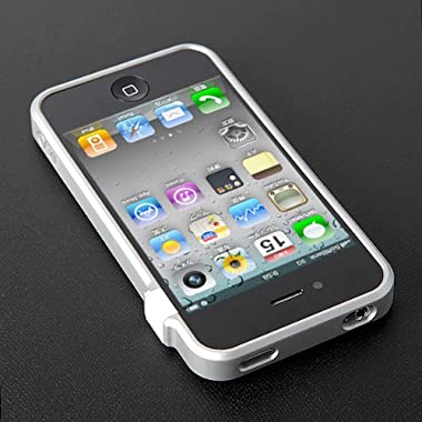CAZE ThinEdge frame case for iPhone 4 Bumper Silver 【世界最薄バンパー】