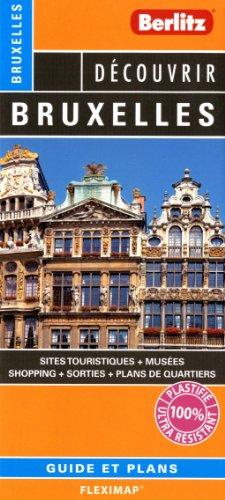 Bruxelles - Plan plastifié de Bruxelles et de son centre-ville