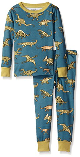 Little Blue House By Hatley Boys' Pajama Set-Blue Dinos