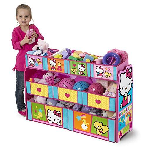 Hello Kitty Toy Bin : Delta children deluxe multi bin organizer hello kitty