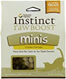 Nature's Variety Instinct Raw Boost Grain-Free Chicken Formula Freeze Dried Minis Cat Treats, 2.25 oz. Package