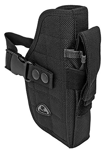 Airsoft Holster Black Black Right Handed Gun Belt Holster BB Airsoft Pistol Handgun Tactical Clip Tactical Holster Gun Holster (Kydex Mag Insert compare prices)