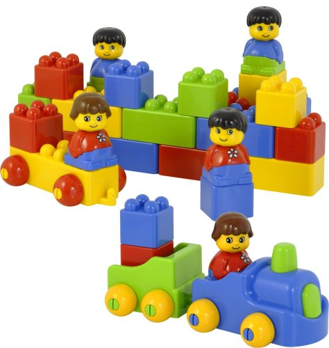 Miniland 47 pieces Color Bricks Set