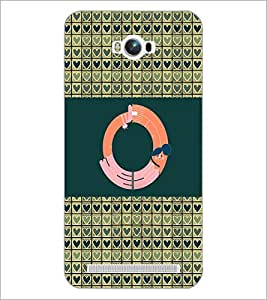 PrintDhaba GRANDbet O D-4147 Back Case Cover for ASUS ZENFONE MAX ZC550KL (2016) (Multi-Coloured)