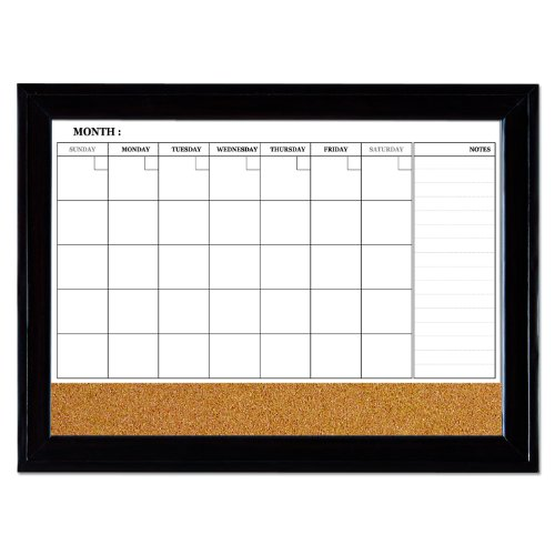 Dry Erase Calendar Canada : Quartet magnetic combination calendar board dry erase