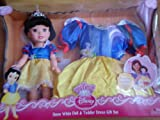 My First Disney Princess SNOW WHITE Doll & Toddler Dress Gift Set