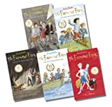 Enid Blyton The Famous Five 70th Anniversary Editions Collection - 5 Books, RRP £29.95 (1: Five On A Treasure Island; 2: Five Go Adventuring Again; 3: Five Run Away Together; 4: Five Go To Smuggler's Top; 5: Five Go Off In A Caravan