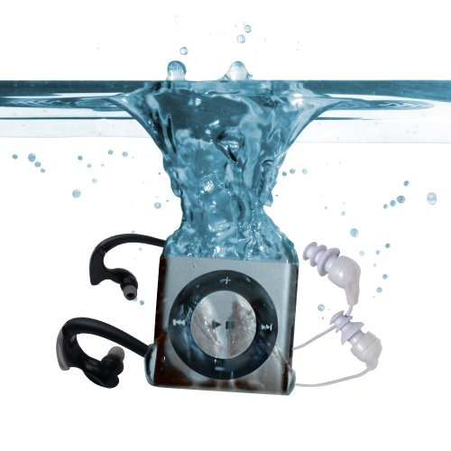Underwater Audio Waterproof Ipod Mega Bundle (Silver) front-1044695