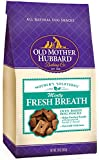 Old Mother Hubbard Mother's Solutions Crunchy Natural Dog Treats, Minty Fresh Dog Breath Recipe Biscuits, 20-Ounce Bag