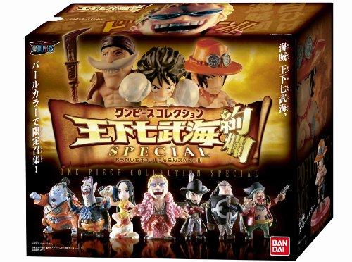ワンピース ワンピースコレクション 王下七武海 絢爛Special BOX (食玩・ラムネ)