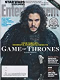 Entertainment Weekly March 20/27, 2015 Your Complete Guide to Game of Thrones Kit Harington