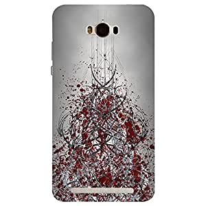 Asus Zenfone Max Chaos Printed Back Cover