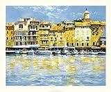 Michael Sanders - St. Tropez Fine Art Print (59.94 x 50.04 cm)
