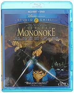 Princess Mononoke (Blu-ray + DVD) by Walt Disney Studios Home Entertainment