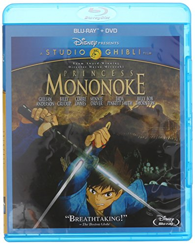 もののけ姫 北米版 / Princess Mononoke [Blu-ray+DVD][Import]