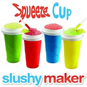 Chill Factor Squeeze Cup Slushy Maker Blue
