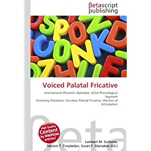 Voiced Palatal Fricative Features | RM.