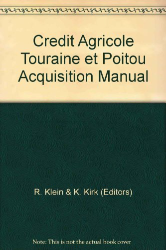 credit-agricole-touraine-et-poitou-acquisition-manual