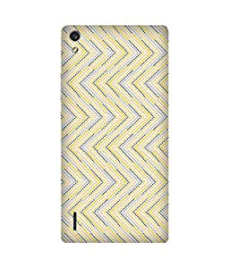 Dots Pattern Huawei Ascend P7 Case