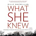 What She Knew: A Novel Audiobook by Gilly Macmillan Narrated by Penelope Rawlins, Dugald Bruce-Lockhart