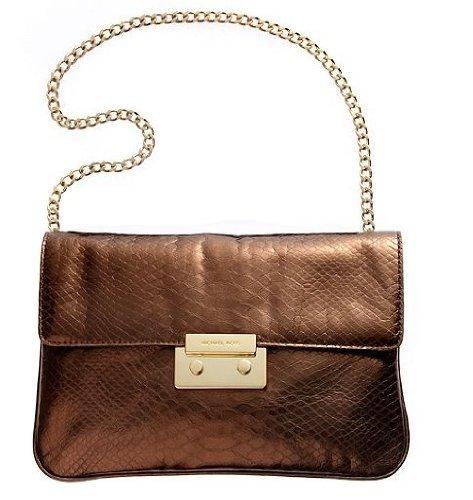 MICHAEL Michael KorsMichael Kors Handbag Sloan Clutch, Cocoa