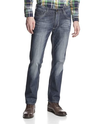 X-RAY Men's 5 Pocket Straight Leg Jean