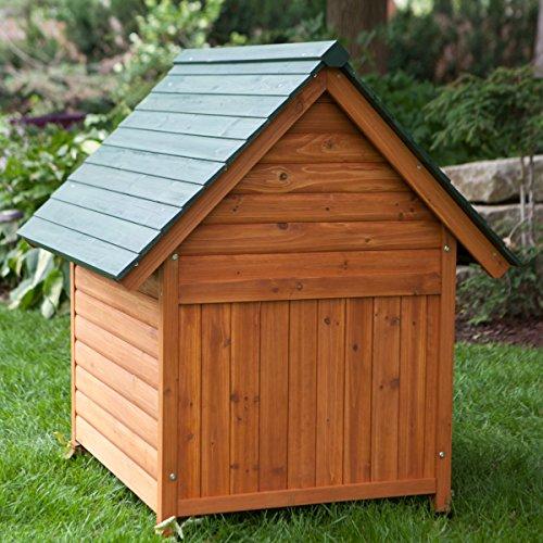Dog House Natural Wood Feel