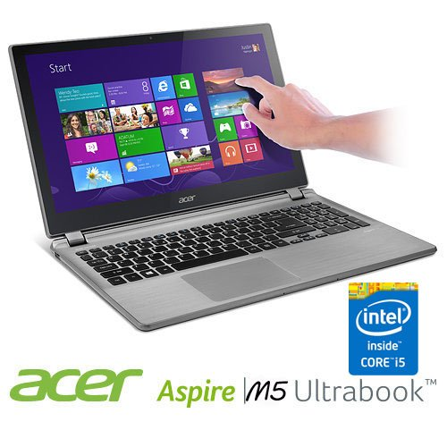 Acer M5-583P Touchscreen Ultrabook Latest Institution Intel Core i5 up to 2.6Ghz w/ Turbo Boost 6GB RAM 500GB Unpleasant Drive 15.6 HD Touchscreen LED w/ Touch Intuitive Switch Wi-Fi + WiDi Bluetooth 4.0 HDMI HD Web Cam USB 3.0 4 Built-in Stereo Speakers