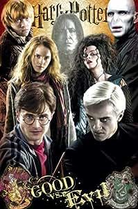Empire 391001 Harry Potter 7 Gut und Böse Filmposter Kino Harry Potter und die Heiligtümer des Todes 61 x 91.5 cm