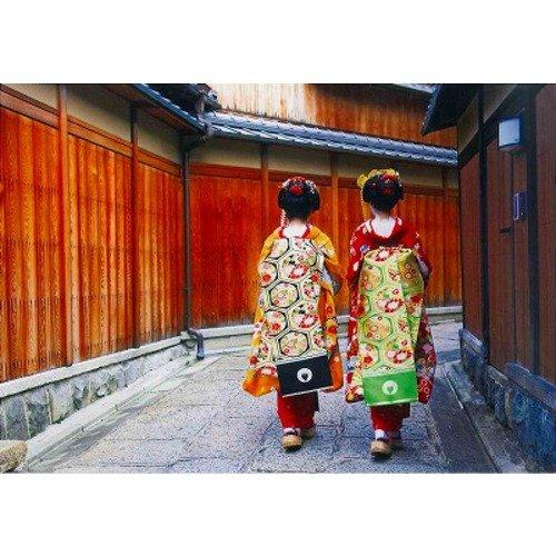 ハガキ 舞子二人石塀小路 京都ー066
