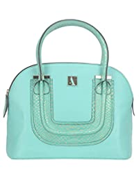 Adamis Beautiful Designed Handbag (Sea Green_B710)