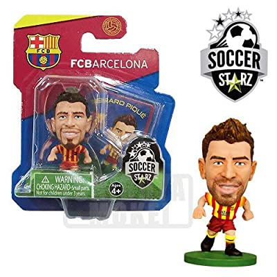 SoccerStarz FC Barcelona Gerard Pique Limited Edition Away Kit [UK IMPORT]