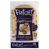 Flatout Light Flatbread Low Fat, Original Wraps, 11.2 Oz - 2 Pack