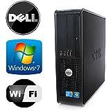 Dell Optiplex 745 SFF - Intel Pentium Dual Core 3.4GHz - 4GB RAM - *NEW* 1TB HDD - Microsoft Windows 7 - WiFi - DVD-ROM (Prepared by ReCircuit)