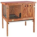 Domestic Pet Rabbit Hutches Deluxe Heavy Duty Rabbit Hutch Stunning