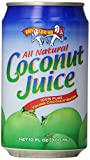Amy & Brian Natural Coconut Juice Unsweetened, 10- Ounce Tins...