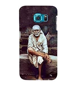 Sai Baba 3D Hard Polycarbonate Designer Back Case Cover for Samsung Galaxy S6 Edge+ :: Samsung Galaxy S6 Edge Plus :: Samsung Galaxy S6 Edge+ G928G :: Samsung Galaxy S6 Edge+ G928F G928T G928A G928I