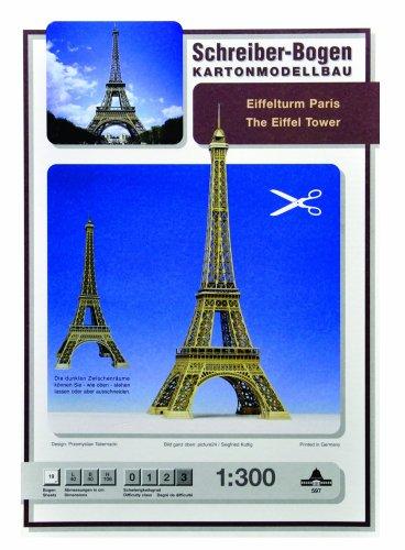 Schreiber-Bogen Eiffel Tower Card Model